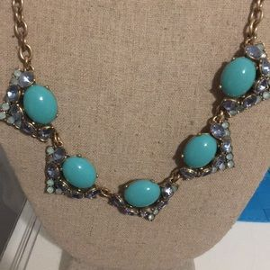 Teal and Blue Stella and Dot Necklace
